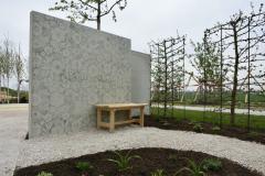 """Auch eine Beton-Mauer kann """"begrünt"""" werden"""