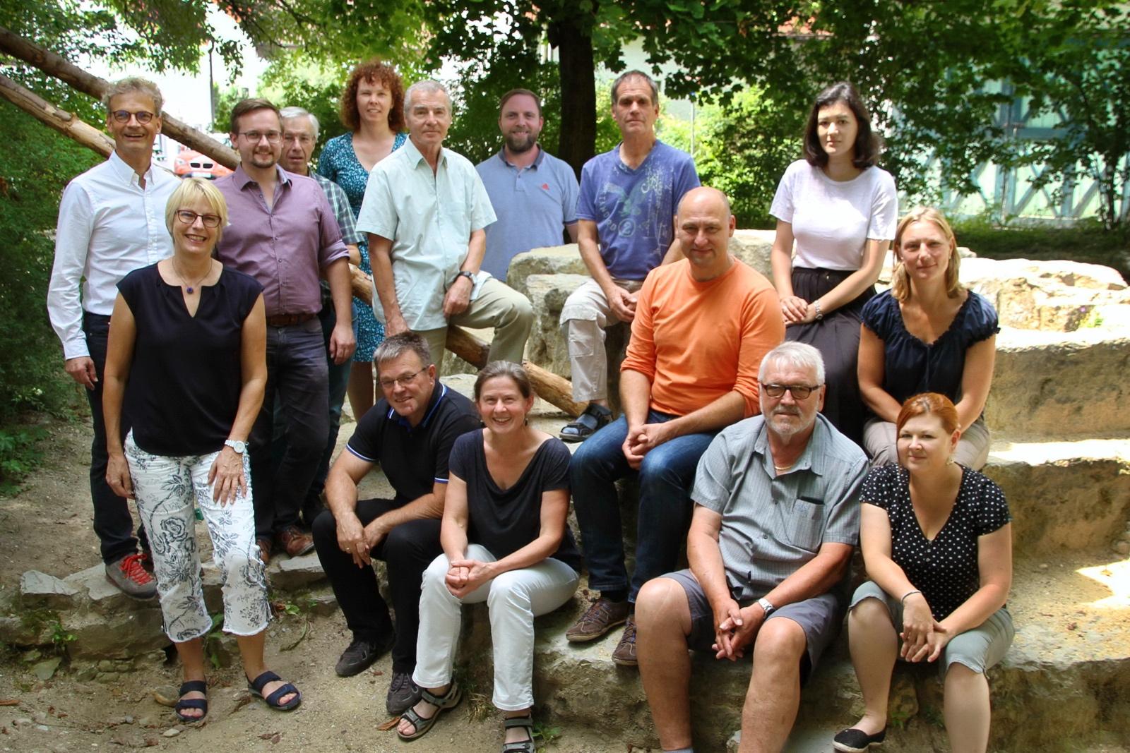 Gruppenbild Verbandsleitung (Foto: Markus Breier)