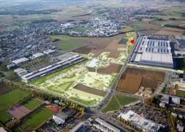 Lageplan Lehrgarten Bezirksverband Landesgartenschau Ingolstadt