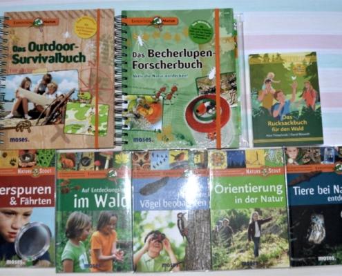 Waldkoffer Bücher