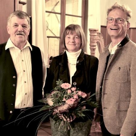1000. Mitglied beim Gartenbauverein Kolbermoor